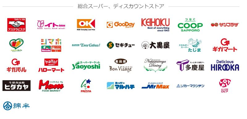 PayPay加盟店のスーパー
